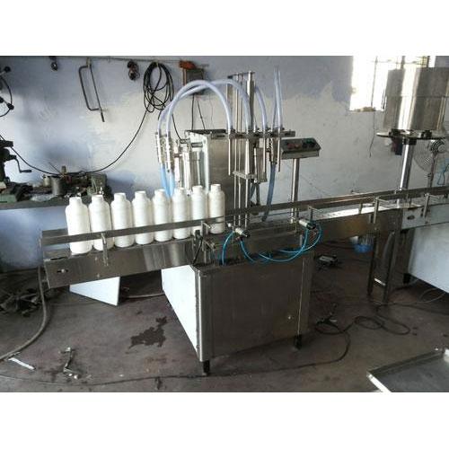 Flavoured Milk Filling Machine
