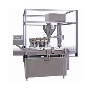 Automatic Rotary Vacuumatric Dry Syrup Filling Machine, For Pharma