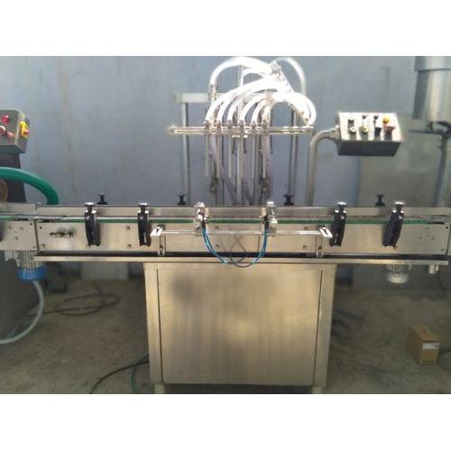 Lube Oil Filling Machine