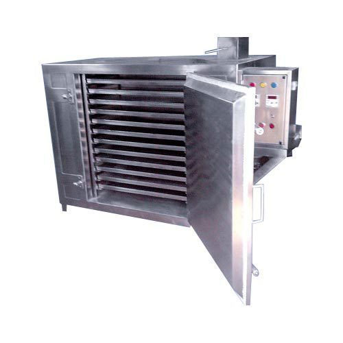 Stainless Steel 12 Tray Dryer, Electricity