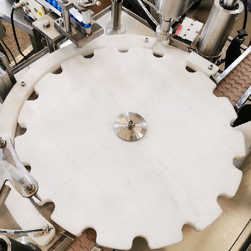 Star Wheel For Bottle Filling Machine