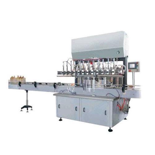 eight head oil filling machine